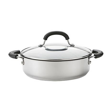 Total Stainless Steel Shallow Casserole 2.8L, ${color}