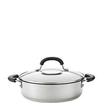 Total Stainless Steel Shallow Casserole 2.8L