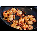 Momentum Hard Anodised Stir Fry Pan 26cm, ${color}