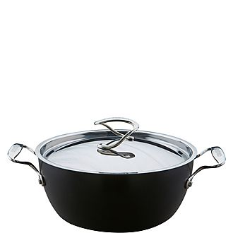 Total Hard Anodized Casserole Dish 24cm