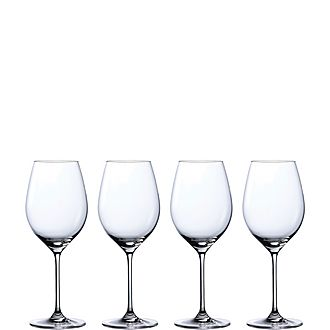Set of Four Moments Red Wine Glasses
