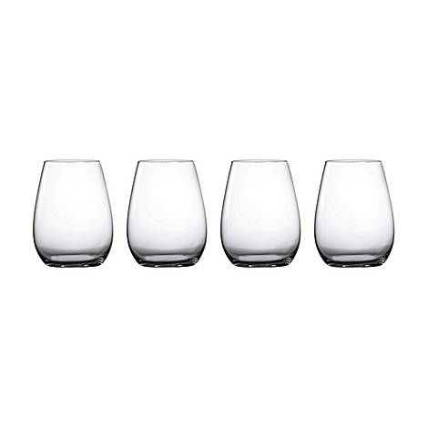 Set of Four Moments Stemless Wine Glasses, ${color}