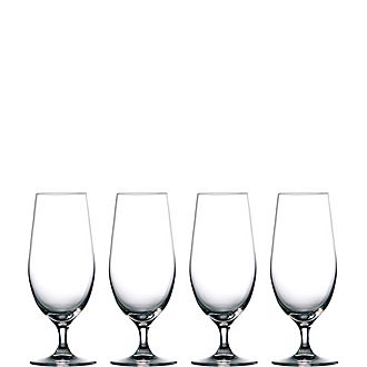 Set of Four Moments Beer Glasses