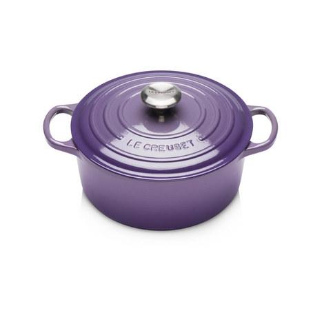 Signature Round Casserole Dish 24cm, ${color}