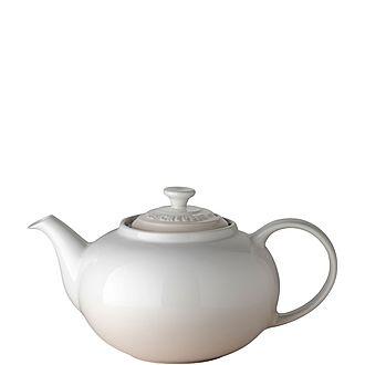 Stoneware Classic Teapot Meringue