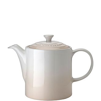 Stoneware Grand Teapot Meringue