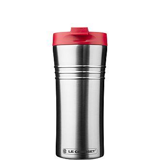 Stainless Steel Cerise Travel Mug 12oz