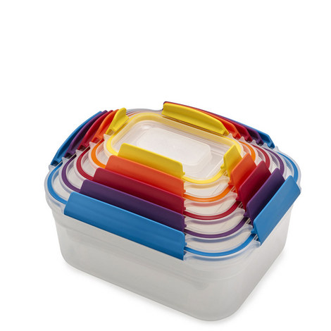 5-Piece Nest Lock Containers, ${color}