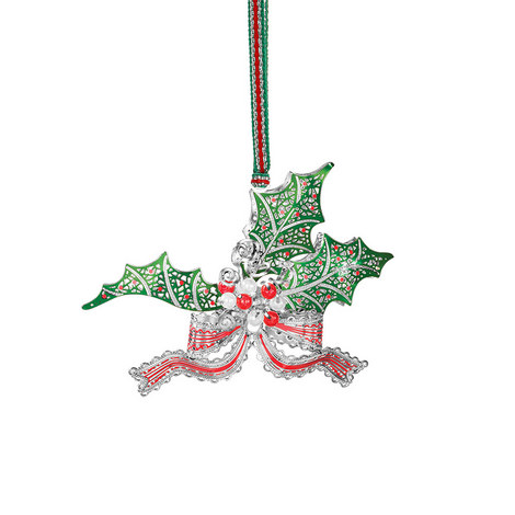 Holly & Berry Hanging Decoration, ${color}