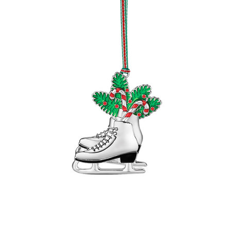ice skates hanging decoration color