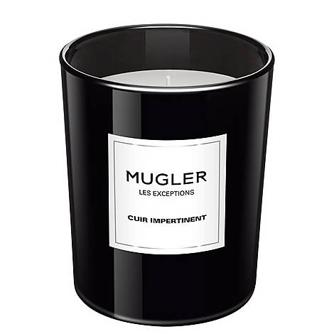 Les Exceptions - Cuir Impertinent Scented Candle, ${color}