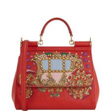 Sicily Embellished Carriage Bag