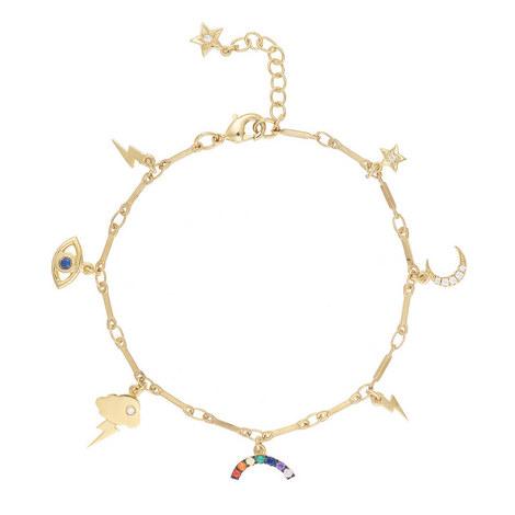 All Weather Charm Bracelet, ${color}