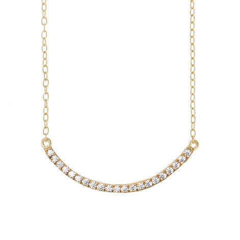 Crystal Bar Necklace, ${color}