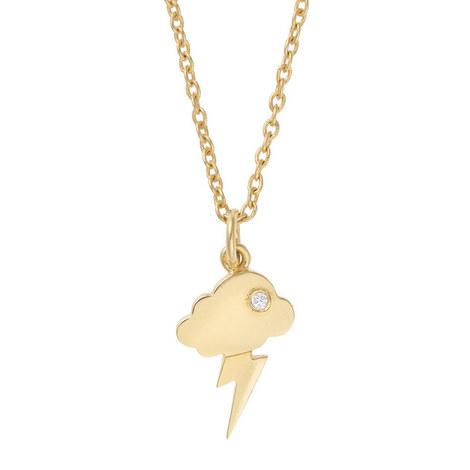 Storm Cloud Crystal Necklace, ${color}