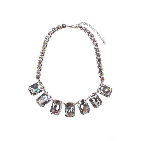 Rhinestone Necklace, ${color}