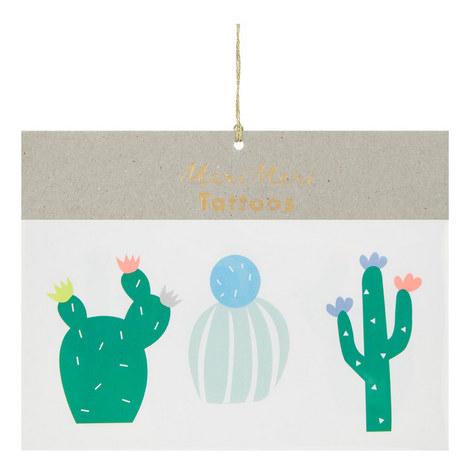 Assorted Cactus Tattoos, ${color}