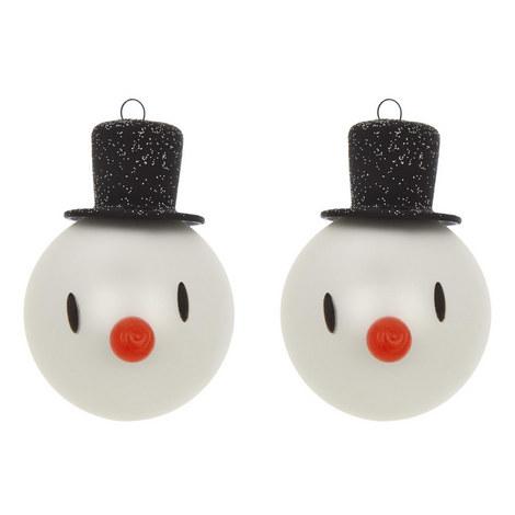 2-Piece Snowman Bauble Set, ${color}