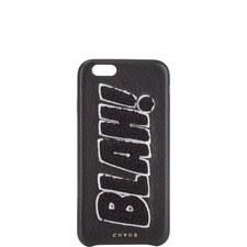 """BLAH!"" Chenille iPhone 6 Case"