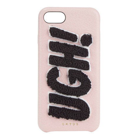 """""""UGH!"""" Chenille iPhone 7 Case, ${color}"""