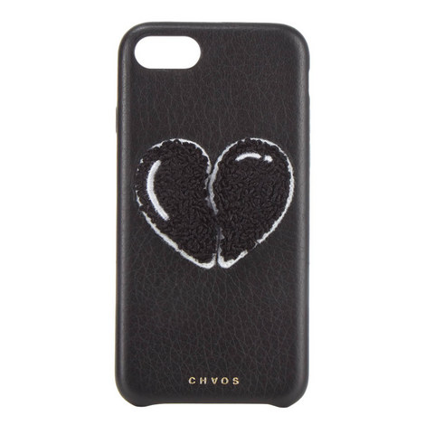 Broken Heart Leather iPhone 7 Case , ${color}