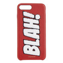 """BLAH!"" Chenille iPhone 7 Plus Case, ${color}"