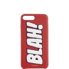 """""""BLAH!"""" Chenille iPhone 7 Plus Case"""