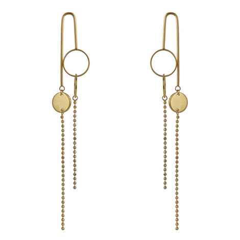 Pung Gyeong Earrings, ${color}