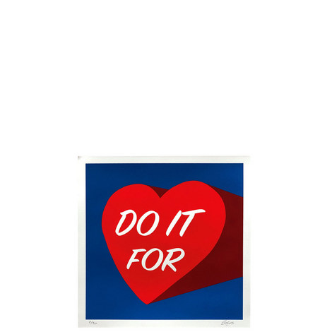 Do It For Love Silk Screen Print, ${color}
