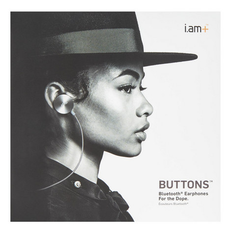 Buttons In-Ear Bluetooth Earphones, ${color}