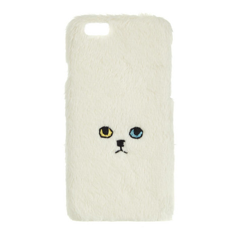 Cat Face iPhone Case, ${color}