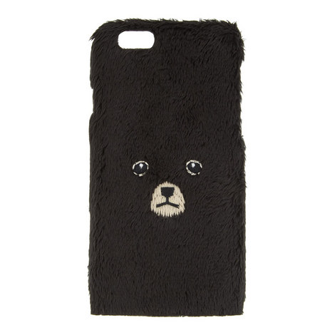 Bear Face iPhone 6/6s Cover, ${color}