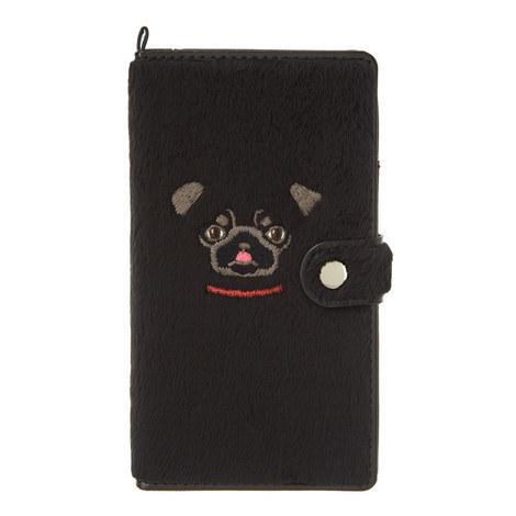 Pug Face Smart Phone Case, ${color}