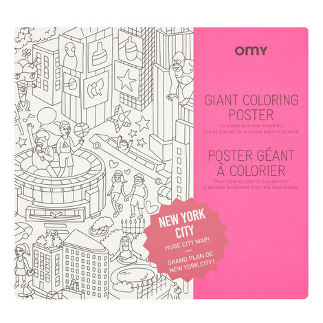 Giant Colouring Poster New York City, ${color}