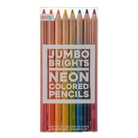 Jumbo Brights Colouring Pencils, ${color}