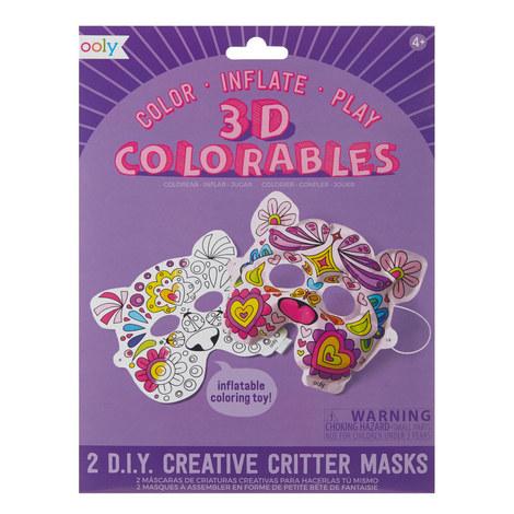 3D Colourables Creative Critter Masks, ${color}