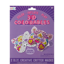 3D Colourables Creative Critter Masks