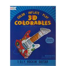 3D Colourables Rockin' Guitar
