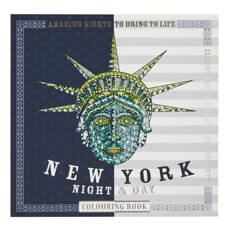New York Night & Day Colouring Book, ${color}