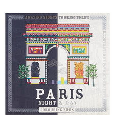 Paris Night and Day Colouring Book