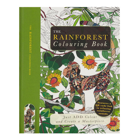 Rainforest Colouring Book, ${color}