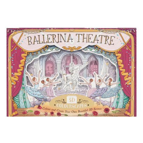 Ballerina Theatre 3D Colourscapes Book, ${color}