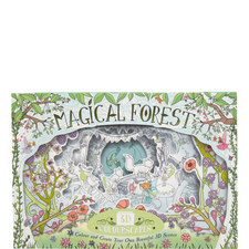 Magical Forest 3D Colourscapes Book