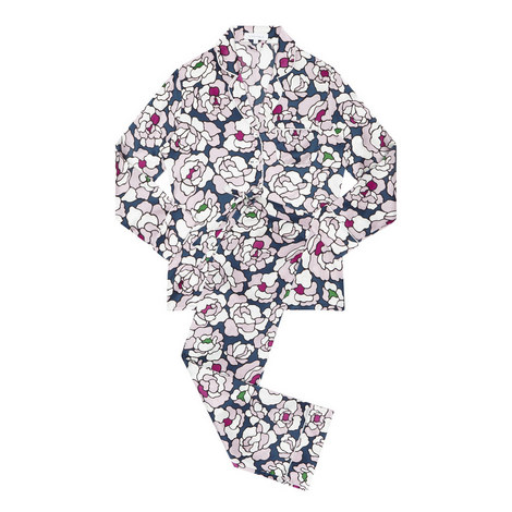 Lila Roxanne Floral Pyjamas, ${color}