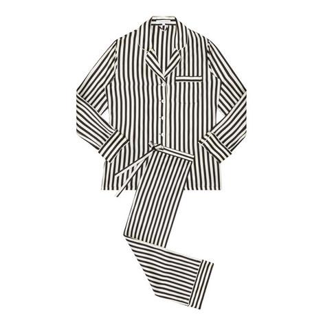 Lila Nika Stripe Pyjamas, ${color}