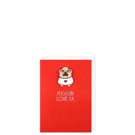 Puggin Love Ya Card, ${color}