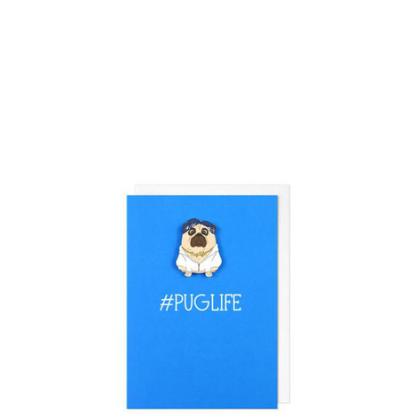 #Puglife Card, ${color}