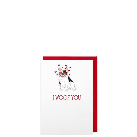 I Woof You Card, ${color}