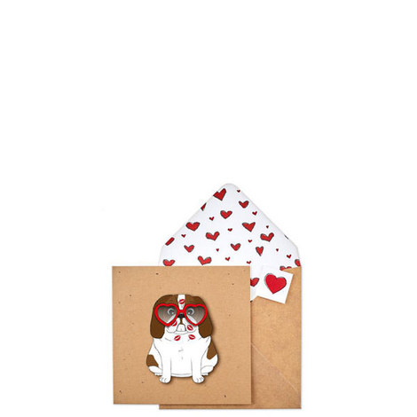 King Charles Heart Card, ${color}