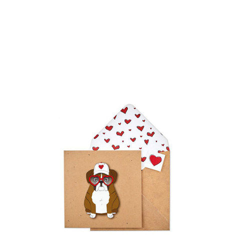 Boxer Heart Card, ${color}